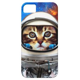 Astronauten-Katze iPhone 5 Hüllen