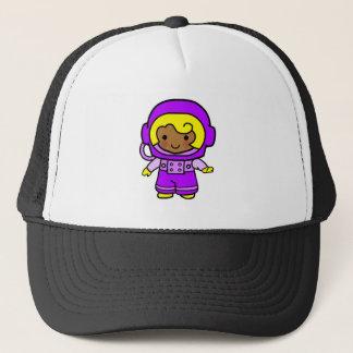 Astronauten-Mädchen 1 Truckerkappe
