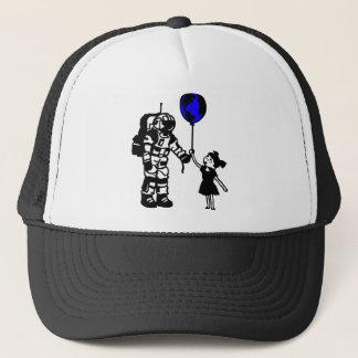 Astronauten-Mädchen und die Welt Truckerkappe
