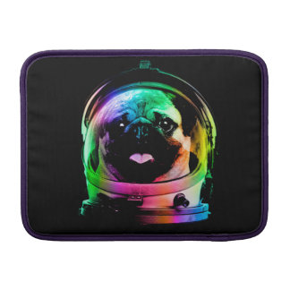 Astronauten-Mops - Galaxie-Mops - Mopsraum - MacBook Air Sleeve