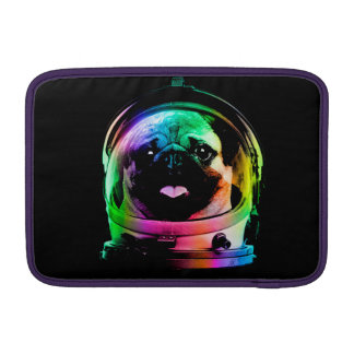 Astronauten-Mops - Galaxie-Mops - Mopsraum - Sleeve Fürs MacBook Air