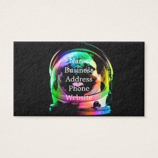 Astronauten-Mops - Galaxie-Mops - Mopsraum - Visitenkarte