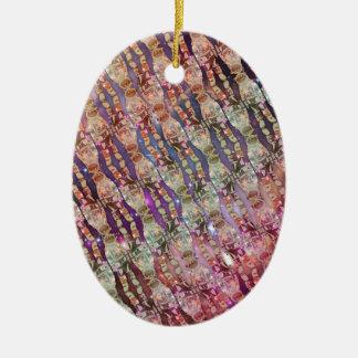 Astronauten-Muster Keramik Ornament
