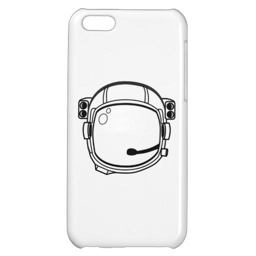 Astronauten-Raum-Sturzhelm iPhone 5C Hüllen