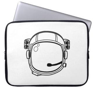 Astronauten-Raum-Sturzhelm Computer Sleeve Schutzhülle