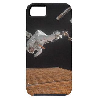 Astronauten-Reparatur-Sonnenkollektor Tough iPhone 5 Hülle
