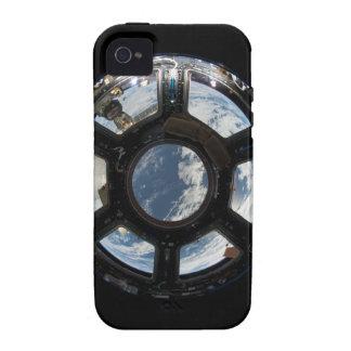 Astronauten sehen von der Raumstation an iPhone 4 Cover