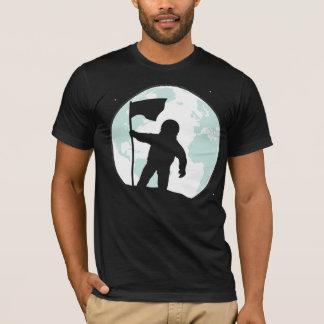 Astronauten-Silhouette T-Shirt