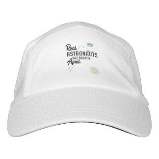 Astronauten sind geborene im April Zg6v6 Headsweats Kappe