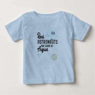 Astronauten sind geborene im August Ztw1w Baby T-shirt