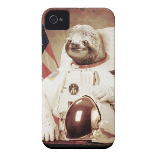 Astronauten-Trägheit Case-Mate iPhone 4 Hülle