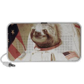 Astronauten-Trägheit Notebook Speaker
