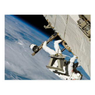 Astronauten-Weltraumspaziergang Postkarten