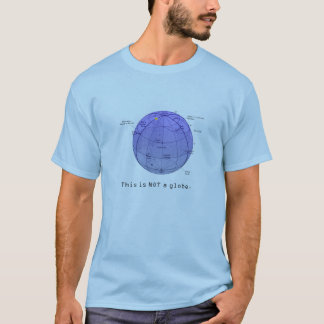 Astronomie-Reihe - dieses ist NICHT eine Kugel T-Shirt