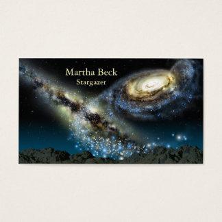 Astronomie-Visitenkarte Visitenkarten