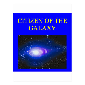 Astronomiegeschenke Postkarte