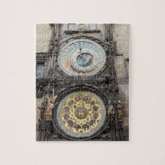 Astronomische Uhr im Prag-Andenken-Foto Puzzle