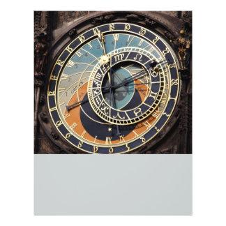 Astronomische Uhr in Prag 21,6 X 27,9 Cm Flyer