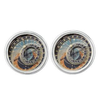 Astronomische Uhr in Prag Manschettenknöpfe
