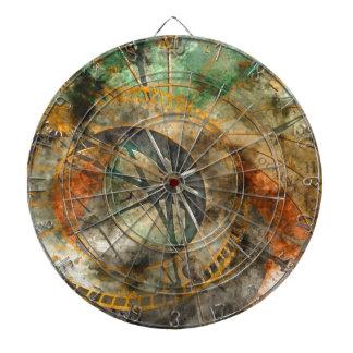 Astronomische Uhr in Prag, Tschechische Republik Dartscheibe