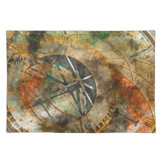 Astronomische Uhr in Prag, Tschechische Republik Stofftischset