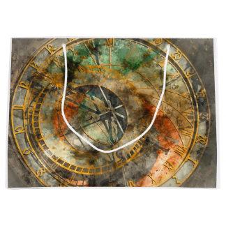 Astronomische Uhr in Tschechischer Republik Prags Große Geschenktüte