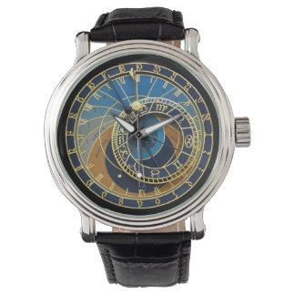 Astronomisches Uhr-Prag Orloj Armbanduhr