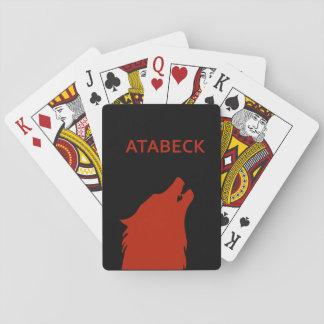 Atabeck klassische Spielkarten