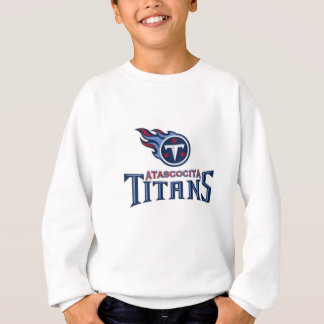 Atascocita Titan-Jugend-Fußball Sweatshirt