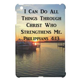 ATEMBERAUBENDE PHILIPPIANS-4:13 SCHRIFT iPad MINI HÜLLE