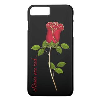 Atemberaubende Rote Rose iPhone 7 Plusfall iPhone 8 Plus/7 Plus Hülle