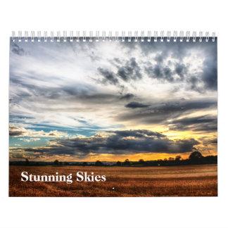 Atemberaubender Himmel-Kalender Kalender