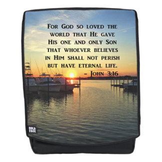 ATEMBERAUBENDER JOHN-3:16 RUCKSACK