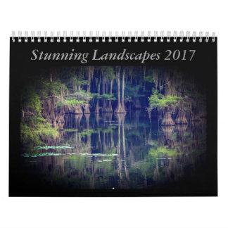 Atemberaubender Landschaftskalender 2017 Abreißkalender