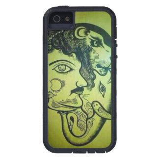 Atemberaubender Löwe der Abdeckung zellulären iPhone 5 Etui