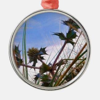 Atemberaubendes einzigartiges Augen-anziehende Silbernes Ornament