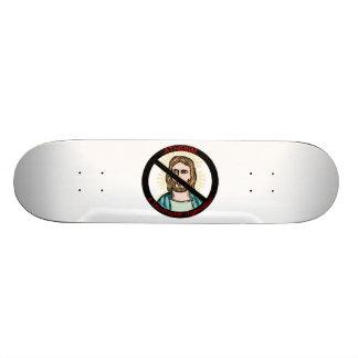 Atheismus eine nicht Prophet-Organisation Skateboarddecks