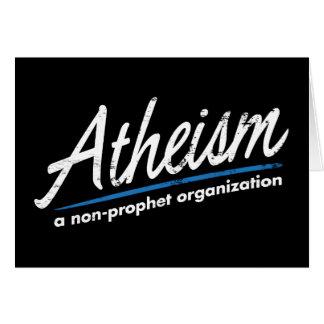 Atheismus: Eine Nichtprophet Organisation Karte