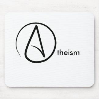 Atheismus-Symbol-atheistische Mausunterlage Mousepad