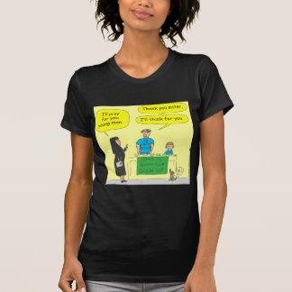 Atheist 215, den ich für SiefarbeCartoon denke T-Shirt