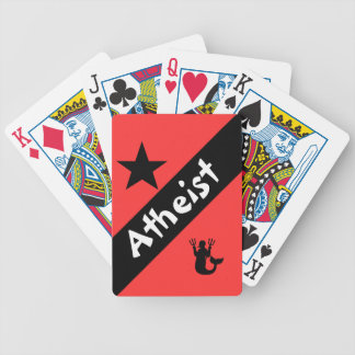 Atheist Bicycle Spielkarten