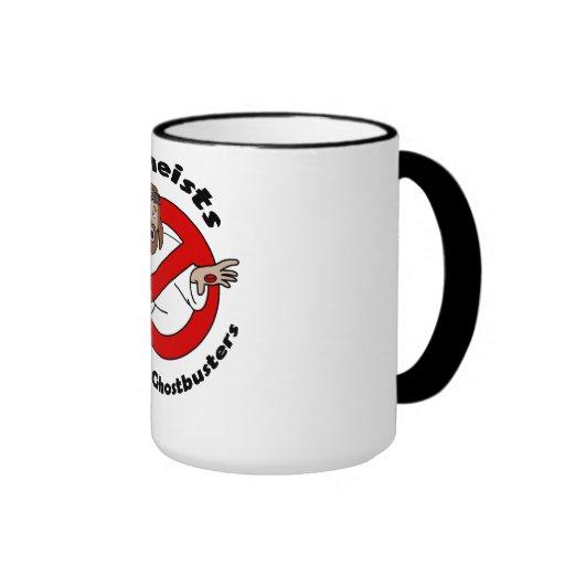 Atheist Ghostbusters Kaffee Tasse