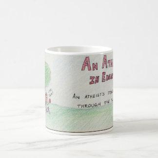 Atheist in der Eden-Fahnen-Tasse Tasse