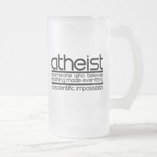 Atheist Matte Glastasse