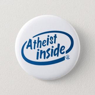Atheist nach innen runder button 5,7 cm