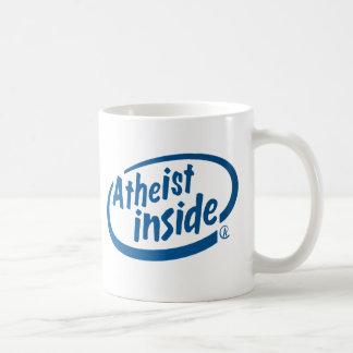Atheist nach innen tasse