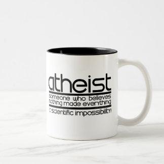 Atheist Teetassen