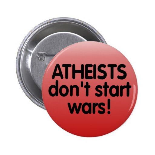 Atheisten Anstecknadelbuttons