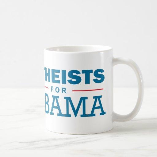 Atheisten für Obama Tassen