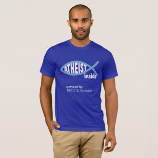 """Atheisten-Innere "" T-Shirt"